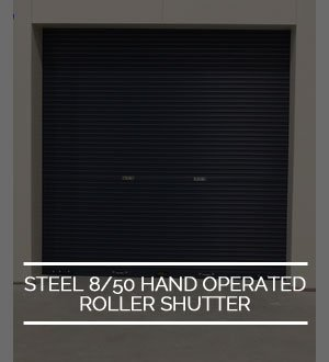 hand operated roller shutter icon