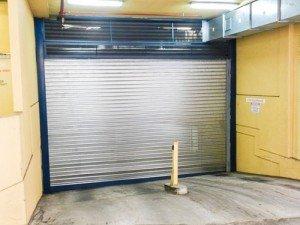 steel doors for parking lots