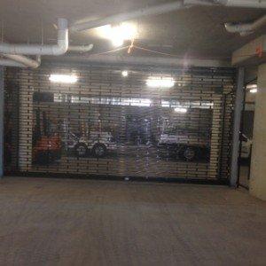 Carpark 19mm aluminium grille installation